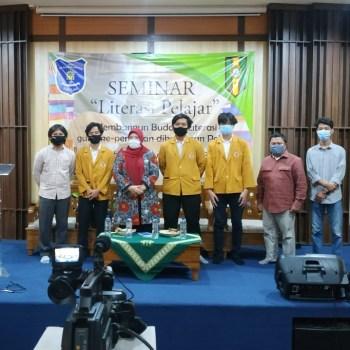 Pacu Semangat Menulis Pelajar, IPM SMA Muhammadiyah 25 Pamulang Gelar Seminar Literasi