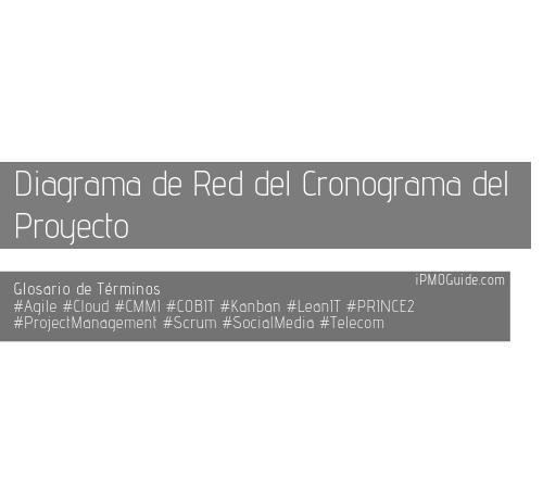 Diagrama de Red del Cronograma del Proyecto