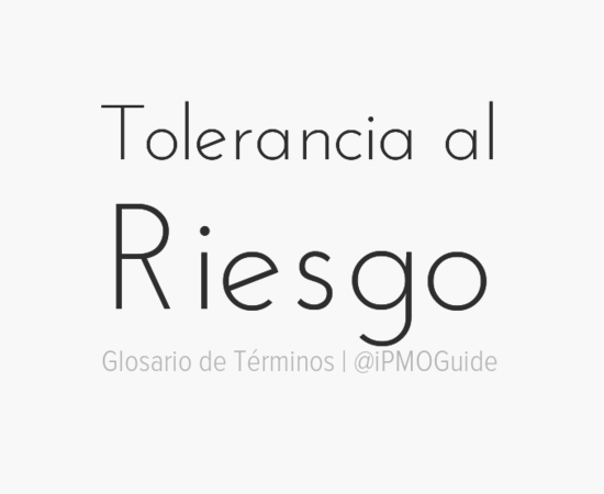 Tolerancia al Riesgo