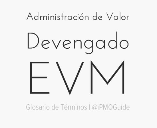 Administración de Valor Devengado (EVM)