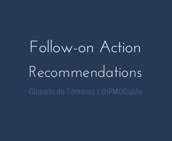 Follow-on Action Recommendations
