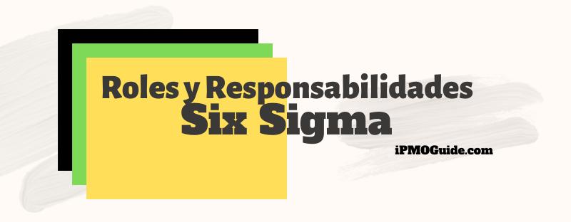 Roles y Responsabilidades en Six Sigma