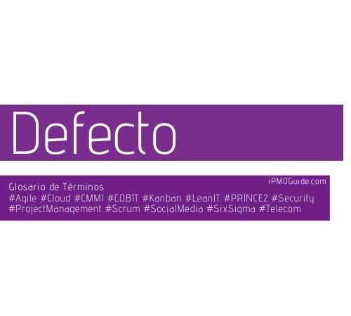 Defecto