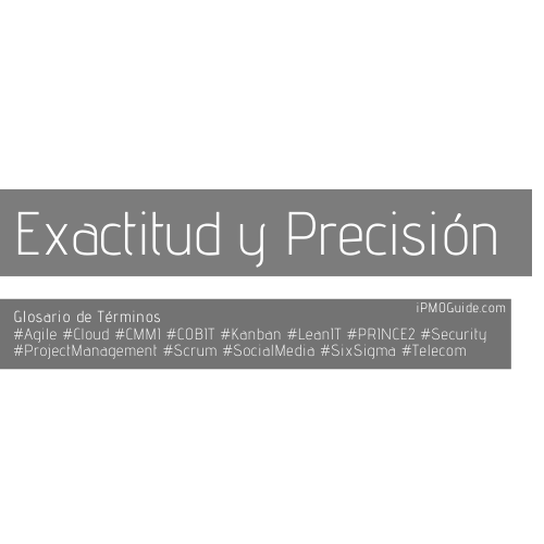 Exactitud y Precision