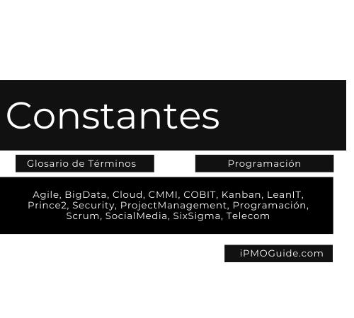 Constantes