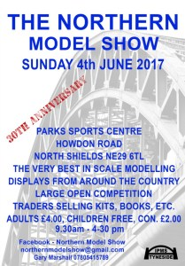 Northern Model Show 2017 flyer