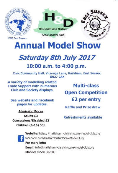 East Sussex Show 2017 flyer