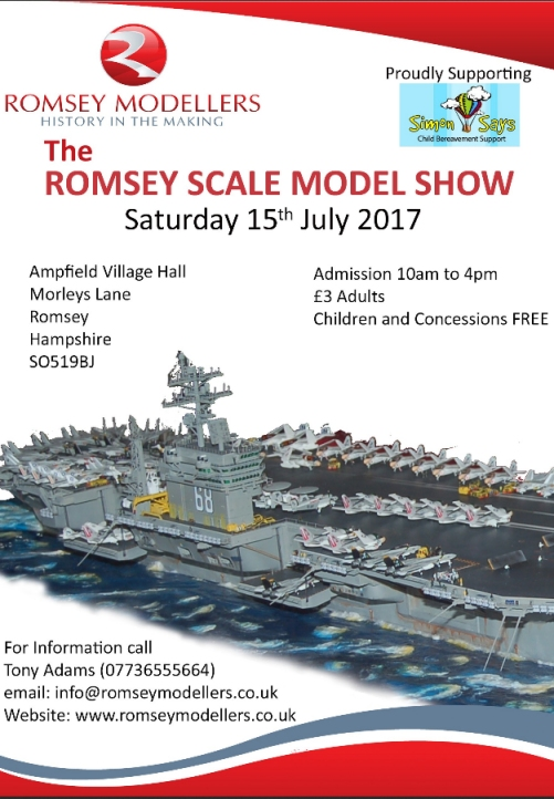Romsey Show 2017 flyer