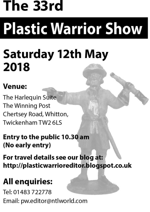 Plastic Warrior Show 2018 flyer