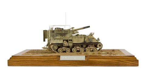 Class 43 Gold - IDF M50 SP Gun by Andy Canning