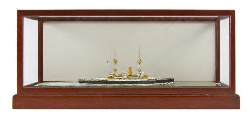 Class 63 Gold - HMS Magnificent by Jim Baumann