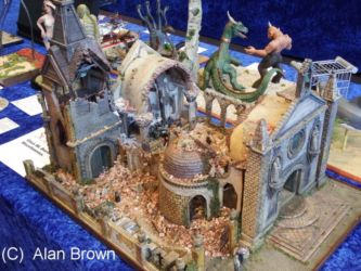 Diorama competition entry - Photo Alan Brown