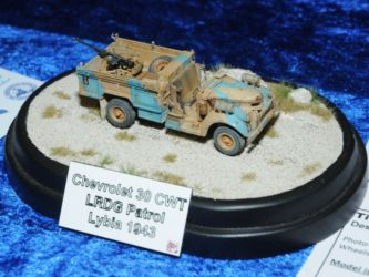 IPMS Malta Trophy - Chevrolet WB 30 LRDG by Jan Tomasek Photo Brian Keates