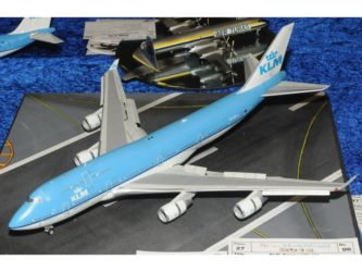 Mark One Model Trophy - KLM Boeing 747-406 by Philippe Lacrosse Photo Ashley Keates