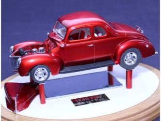 Class 51 Gold - 1940 Ford Street Rod by James Whalen