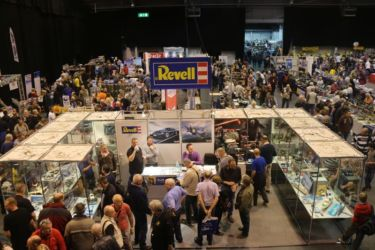 Revell stand and Hall 2