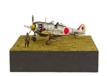 Class 13 Gold, Japanese Aviation SIG Trophy - Ki-44 Shoki by Mario Gabás Ruiz