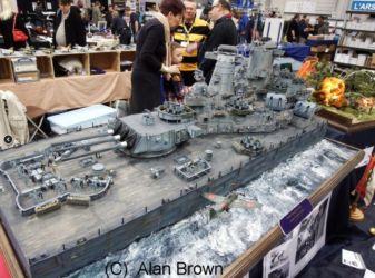 Ship Diorama - Photo Alan Brown