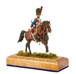 Class 56 Gold - Grenadier A Cheval by Kerry Jang