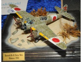 Japanese Aviation SIG Trophy - Kawaski  KI-45 Toryu Nick by Stano Paulicek Photo Ashley Keates