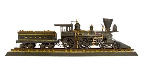 Class 78 Gold - American 4-4-0 Loco, 'Lucifer' by Steve Abbey