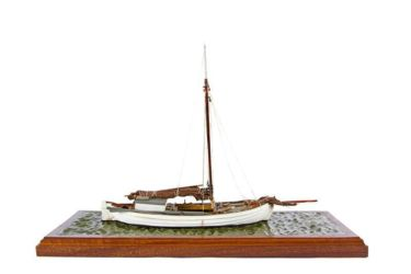 "Class 66 Gold - Bornholm Boat ""Haabet"" by Stephen Newton"