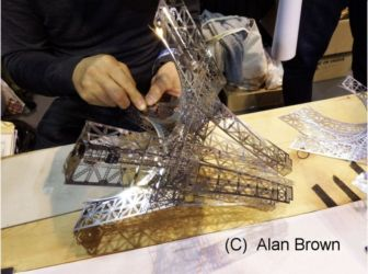 Building the Eifel Tower - Photo Alan Brown