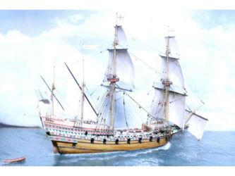 Class 67 Gold - Elizabethan Galleon by Mark Slotta