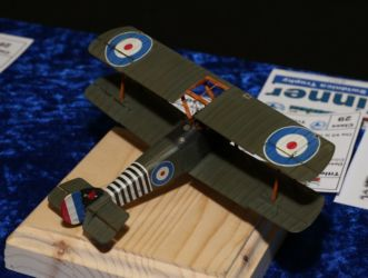 Trophy - IPMS Świndnica Trophy - Sopwith F1 Camel by Pavel Huryta, photo by Ashley Keates