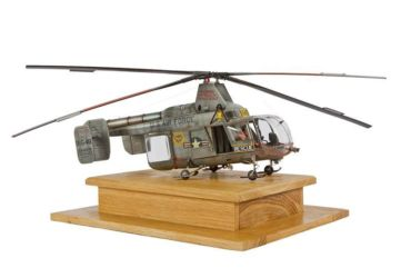 Class 23 Gold, Scale Aircraft Modelling Trophy - H43B Kaman Huskie by Milan Pospisil