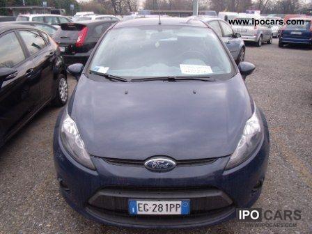 2011 Ford Fiesta 1 2 16v 82cv 5pt Car Photo And Specs