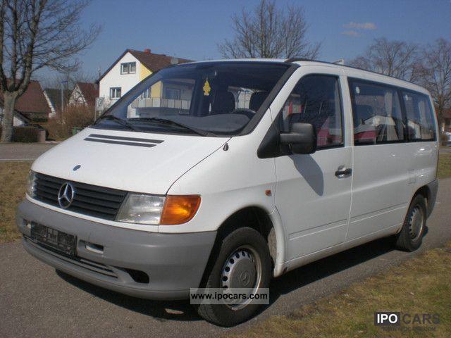 1996 Mercedes Benz Vito 108 D 164 13 8 Seater Car