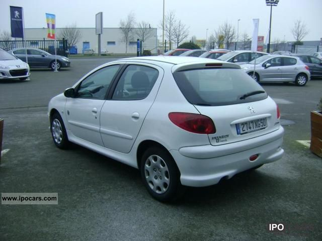 2008 Peugeot 206 1 4 Hdi Generation 5p Car Photo And Specs