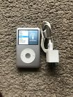 Apple iPod classic 7th Generation A1238 Silver 160GB.