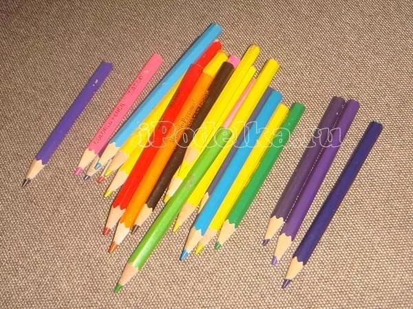 Từ bút chì nhiều màu