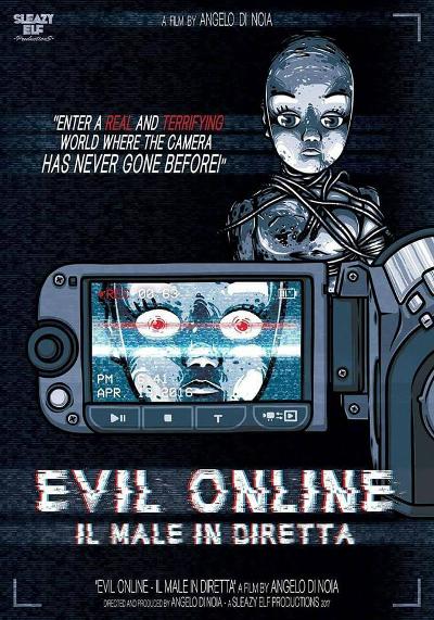 Locandina di Evil Online, inviatami dal regista