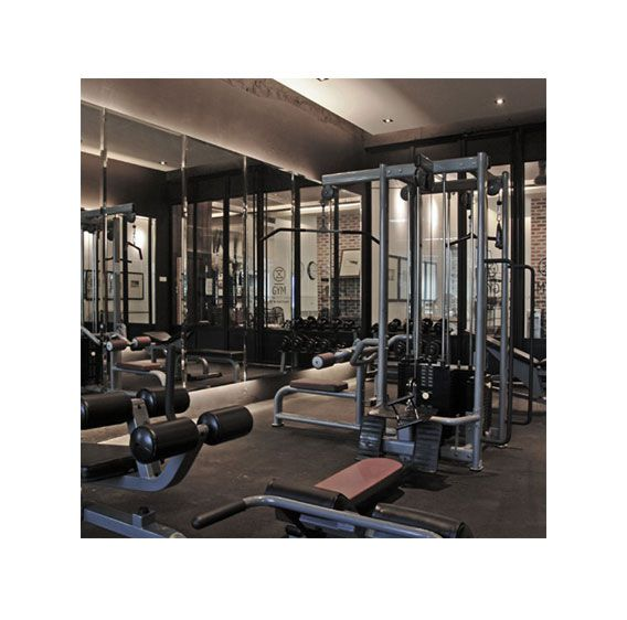 Gym Space for hotel guests to work on their muscle and stay fit