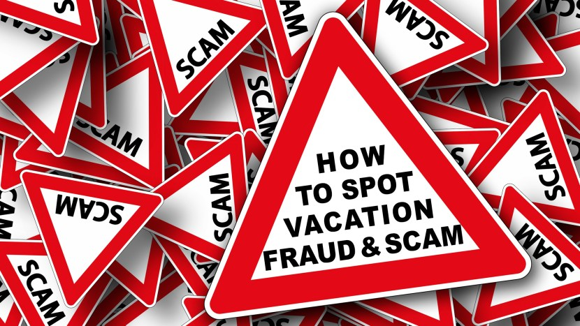Banner - Facebook Vacation Scam