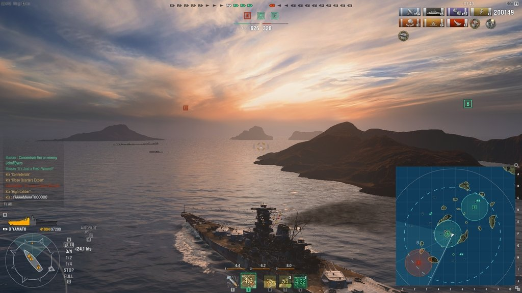 Online Battleship: World of Warships
