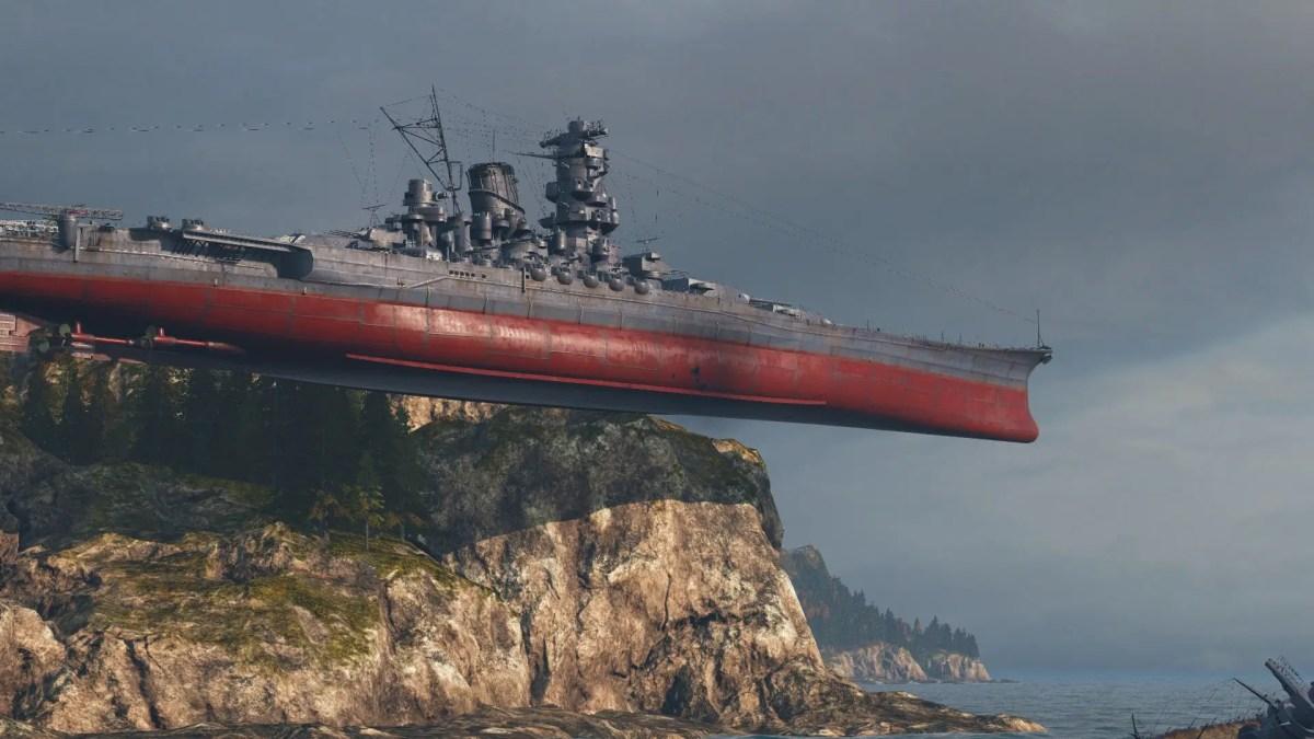 Online Battleship of a Lifetime: World of Warships