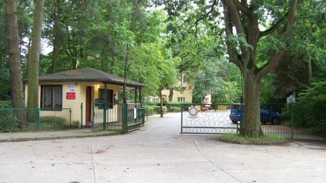 brama wjazdowa do SOSW