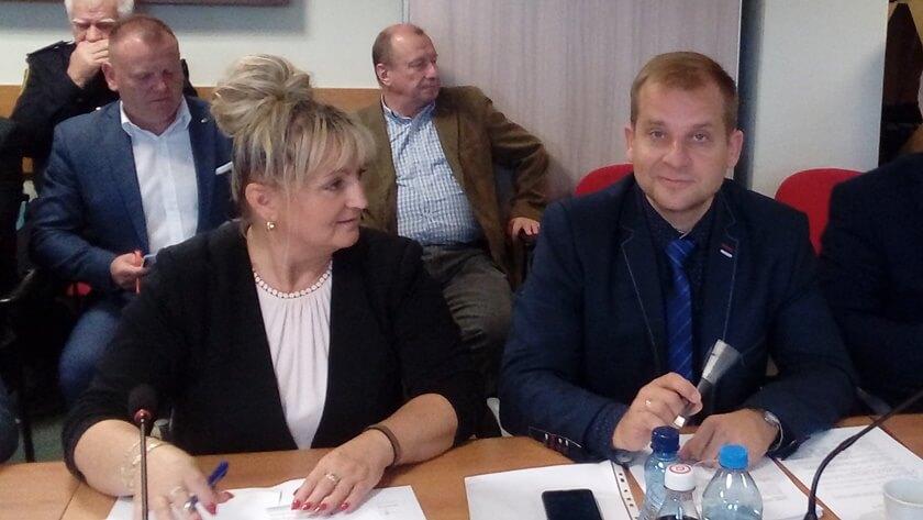 Grażyna Pawłowska i Krystian Kowalewski, czyli dwie trzecie nowego klubu
