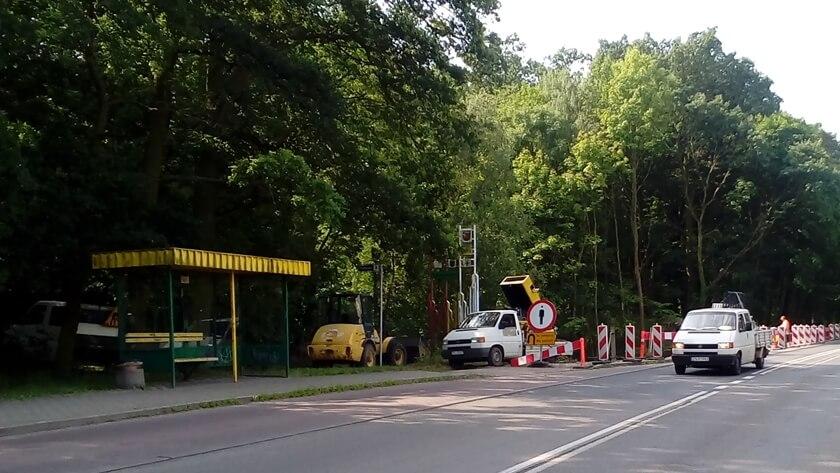 Przystanek autobusowy Police Palmowa