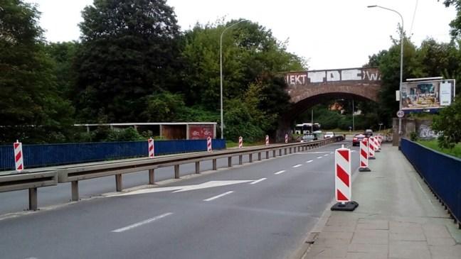 ulica Sczanieckiej w remoncie