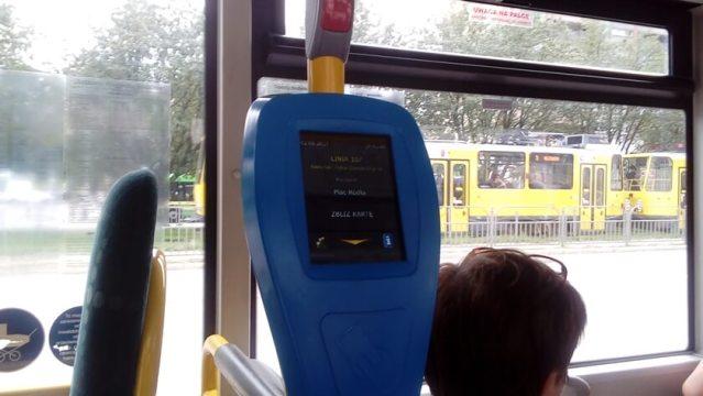kasownik w autobusie SPPK