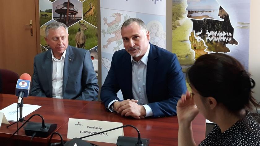 Paweł Knap, dyrektor szczecińskiego oddziału Eurovii