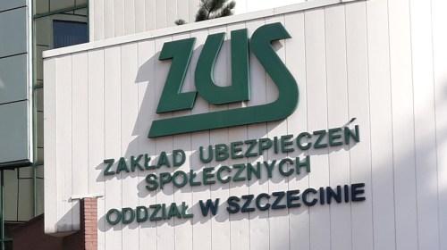 szyld ZUS w Szczecinie