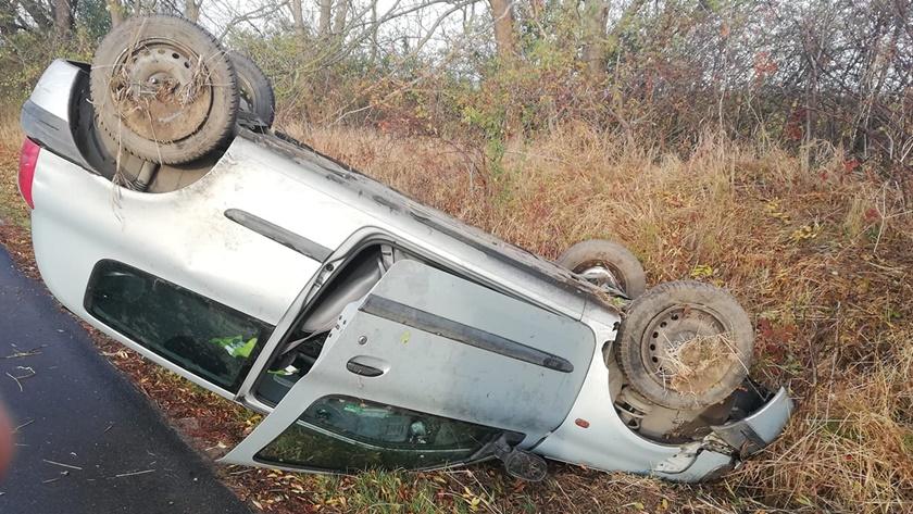 wypadek pod Będargowem
