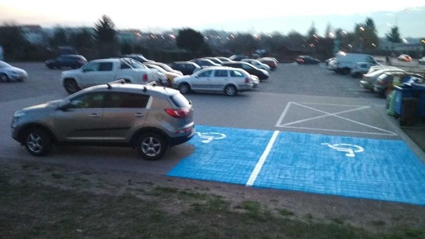 parking malowany