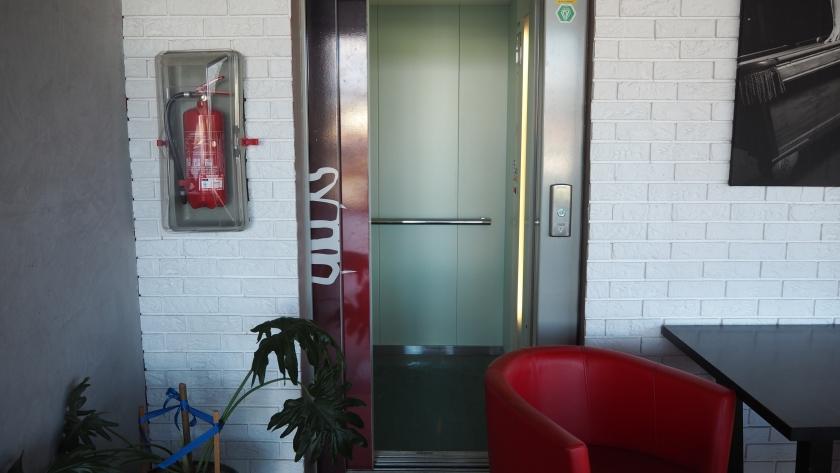 winda w budynku OSiR
